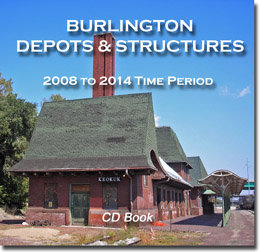 [Burlington Depots & Structures CD Book]